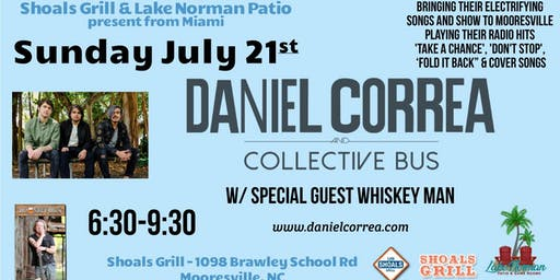 Daniel Correa + The Collective Bus Return to Moorseville