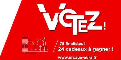 Vote du public - Palmarès de l'architecture et de l'aménagement