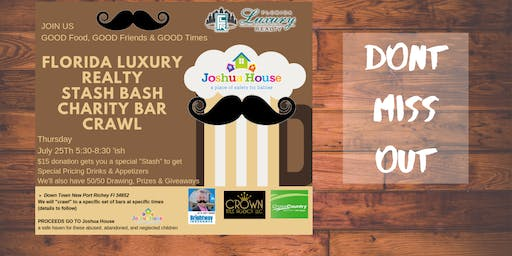 Florida Luxury Realty Stache Bash Charity Bar Crawl