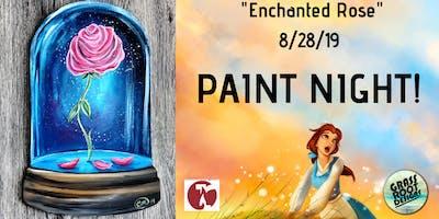 The Enchanted Rose Paint Night! [Red Lantern]