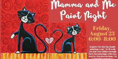 Mamma and Me Paint Night