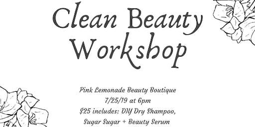 Clean Beauty Workshop