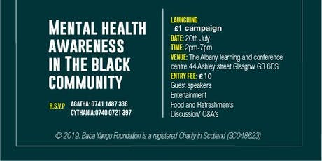 Mental Health Awareness in the Black Community  tickets