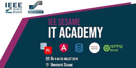 IEEE SESAME : IT ACADEMY billets