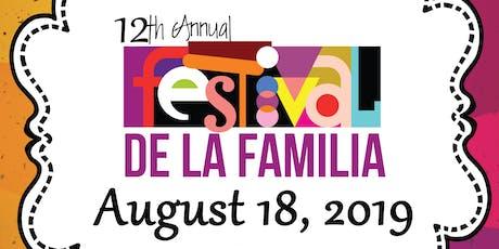 12th Annual Festival de la Familia Volunteer Registration tickets