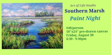 Paint Night: Southern Marsh tickets