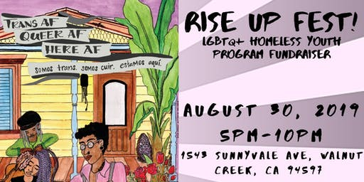 Rise Up Fest! LGBTQ+ Homeless Youth  Program Fundraiser