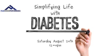 Simplifying Life With Diabetes tickets