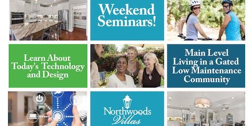 Weekend Home Seminar Series-Topic- Energy Savings