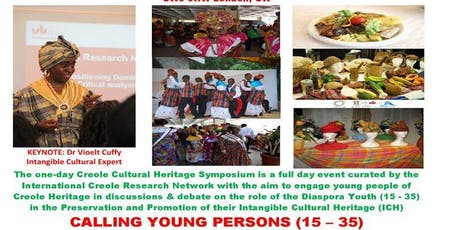 The International Youth (15 - 35) Creole Heritage 2019 Symposium tickets