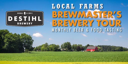 DESTIHL Brewmaster's Tour: Local Farms Themed Beer & Food Tasting