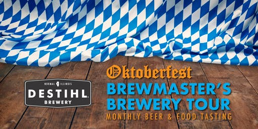 DESTIHL Brewmaster's Tour: Oktoberfest-Themed Beer & Food Tasting