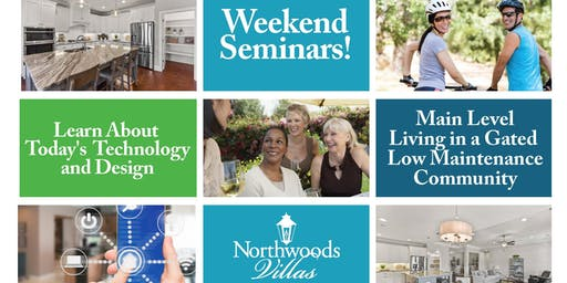 Weekend Home Seminar Series-Topic- Universal Living and What it Means in Your Home