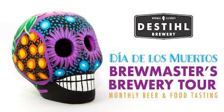 DESTIHL Brewmaster's Tour: Dia De Los Muertos Themed Beer & Food Tasting tickets