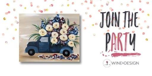 Sip + Paint   Floral Truck