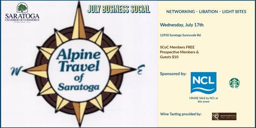 Saratoga Chamber of Commerce July Business Social