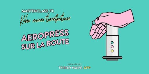 MasterClass Aeropress Sur La Route