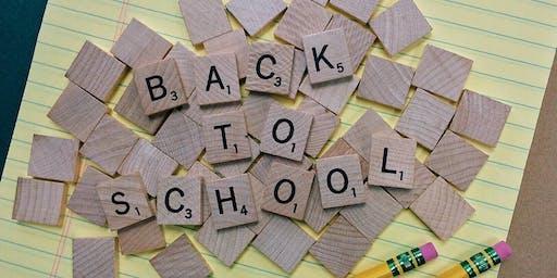 Back to School Make and Take