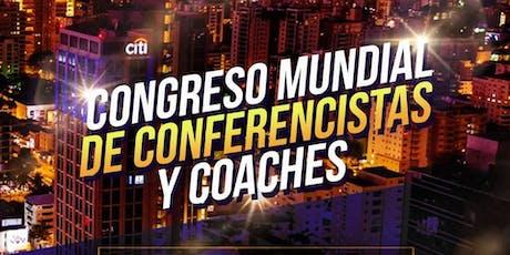 CONGRESO MUNDIAL DE CONFERENCISTAS Y COACHES entradas