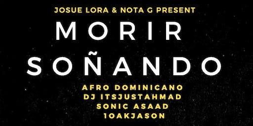 """""""Morir Soñando""""  Album release by Josue Lora & Nota G"""