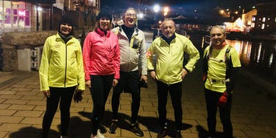 Pi Singles Running Evening in Exeter