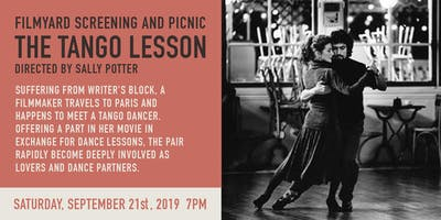 The Tango Lesson Screening with Picnic Dinner