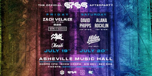 SATURDAY 7/20 : Official STS9 Afterparty w/ Alana Rocklin (of STS9), David Phipps (of STS9) & Modern Measure | Asheville Music Hall - SOLD OUT!