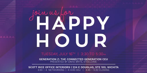 Happy Hour: Generation Z: The connected Generation CEU
