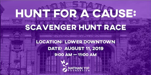 Hunt for a Cause: Charity Scavenger Hunt