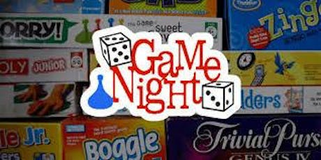GAME NIGHT:  Feminine Hygiene Drive for Star of Hope tickets