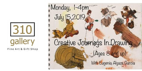 CREATIVE JOURNEYS IN DRAWING tickets