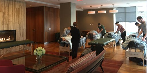 The Love Institute Couples Massage Class for Ashton Kutcher's Thorn - NY