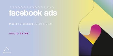 Facebook Ads (agosto) entradas