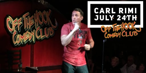 Comedian Carl Rimi live at Off the hook comedy club Naples, Florida