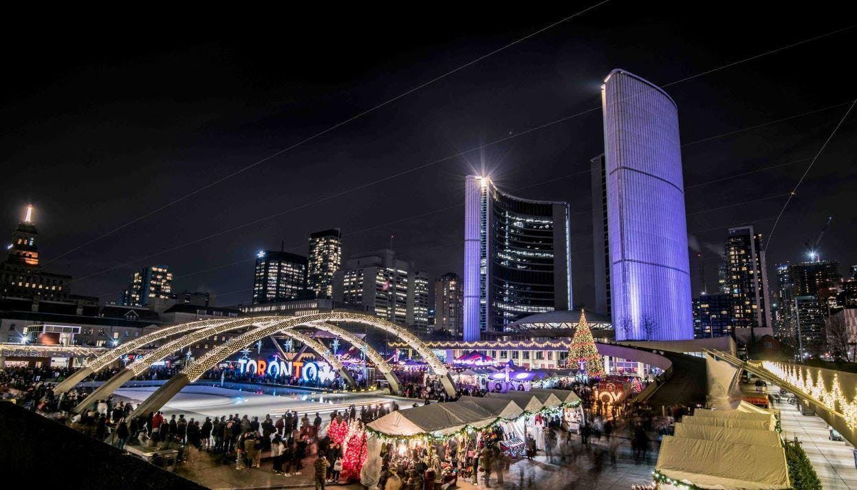 TORONTO HOLIDAY MARKET CHRISTMAS FAIR IN THE SQUARE 2019