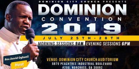 Dominion Convention 2019 tickets