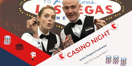 LAS VEGAS CASINO NIGHT - Junior Dragons Fundraiser