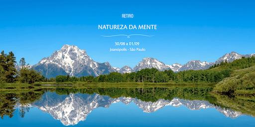 Retiro Natureza da Mente - agosto 2019