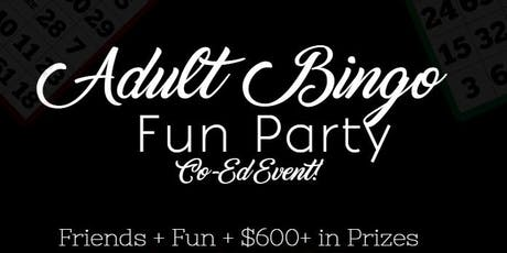 Adult Bingo Fun Party tickets
