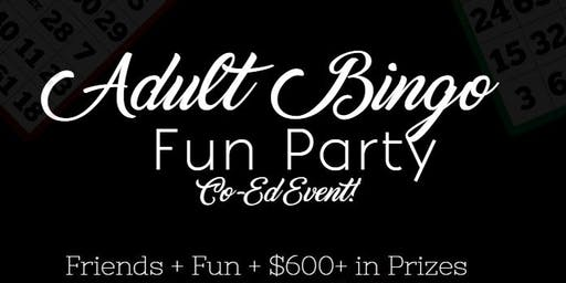 Adult Bingo Fun Party
