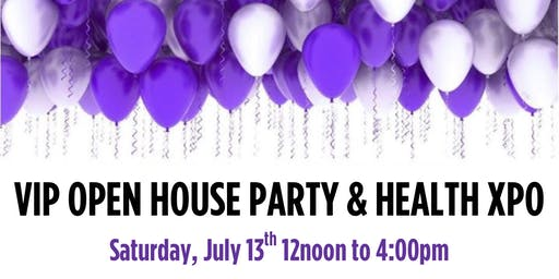 AFLW VIP Party and Health Xpo! 2-3pm