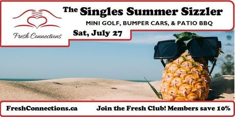 The Singles Summer Sizzler tickets