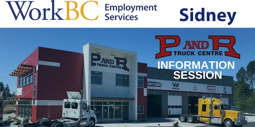 WorkBC Sidney | P and R Truck Centre Info Session