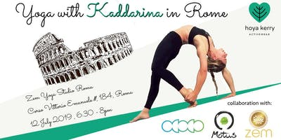 AcroYoga with Kaddarina in Rome