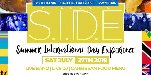 S.I.D.E  SUMMER INTERNATIONAL DAY EXPERIENCE