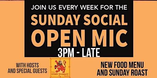 Sunday Social Open Mic