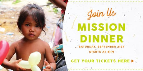 Mission Dinner 2019 tickets