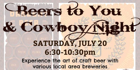 Beers To You & Cowboy Night! tickets