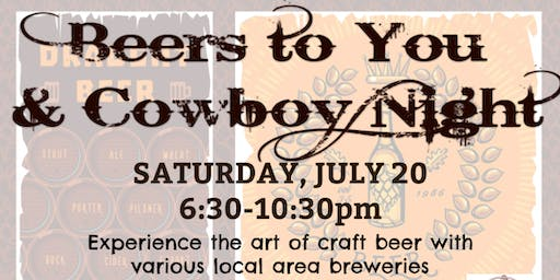 Beers To You & Cowboy Night!