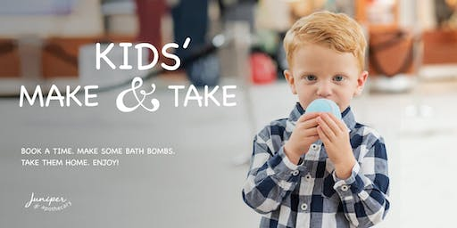 Kids Make 'n Take Bath Bomb!